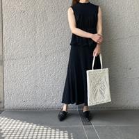 『Mame Kurogouchi』Cartain Knit - 山梨県・甲府市 ファッションセレクトショップ OBLIGE womens【オブリージュ】
