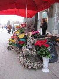 イースターはラトヴィアの旅の思い出とともに - 花の自由旋律