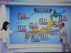 「おはよう日本」のニューフェイスと「ニュースきん5時」情報 -