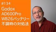 2021/04/04#134Godox AD600Pro WB26 バッテリー不調時の対処法 - shindoのブログ