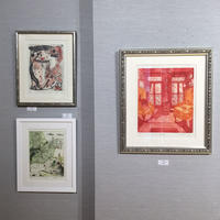 今回の展示作品紹介第三回『ああ!ピンク・グリーンゾーン』 - +P里美の『Bronze & Willow』Etching note