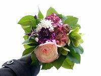 ご自宅用生花。「春のイメージ」。2021/04/03。 - 札幌 花屋 meLL flowers