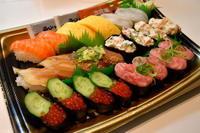 週末いろいろお寿司テイクアウト、豆腐一丁、味噌マヨ野菜etc・・・ - 日々のつづきごと