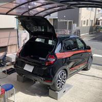 トゥインゴ3 GT 0.9ターボ MT アーシング施工 - 「ワッキーの自動車実験教室」 ワッキー@日記でごじゃる