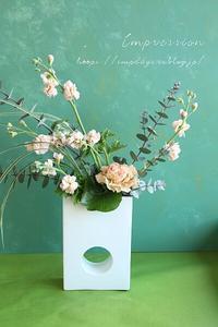 定期装花から丸葉ユーカリ - Impression Days