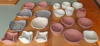 釉掛け窯詰4月6日(火) - しんちゃんの七輪陶芸、12年の日常