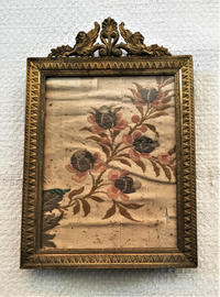 刺繍の布入りメタルフォトフレーム1055 - スペイン・バルセロナ・アンティーク gyu's shop