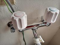 洗濯機の水道栓交換しました・・・。 - 遅ればせながら・・・