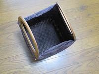 2本どり石畳編みの手提げかご、脱・よれよれを目指して仕上げしてます - あれこれ手仕事日記 new!