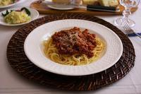 スパゲッティボロネーゼ&ポテトサラダ - 音楽・スィーツ・そしてBoston