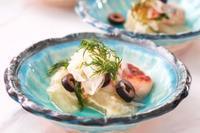 グレープフルーツと鮭のマリネ - 登志子のキッチン