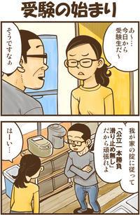 受験の始まり - 戯画漫録