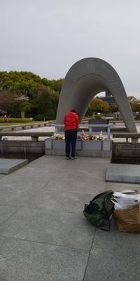 原爆慰霊碑に献花しました - 広島瀬戸内新聞ニュース(社主:さとうしゅういち)