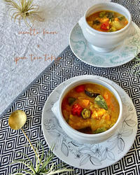 南インド料理サンバル★作ってみた - nicottoな暮らし~うつわとおやつの物語