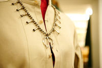 """NAVAJO ALL HANDMADE SILVER SQUASH BLOSSOM NECKLACE(MARY JANE GARCIA)#2""ってこんなこと。 - THE THREE ROBBERS ってこんなこと。"