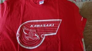 川崎重工 リバーマークTシャツ - 双 極の調べ