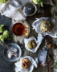 オオデマリと抹茶マフィン - ゆきなそう  猫とガーデニングの日記