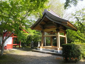 小松寺の鐘楼堂が完成 -