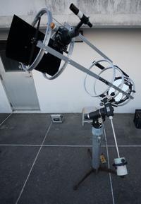 懲りずにトラベルドブソニアンを作る(21)ピラー脚+90s赤道儀に載せてみる - 亜熱帯天文台ブログ