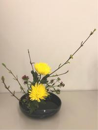 花材を活かす - 自然を見つめて自分と向き合う心の花