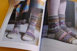 マリー・ウォレンのフェアアイル靴下 -