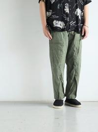 CHANGESREMAKE ZIP PANT / CH4009 - 『Bumpkins putting on airs』