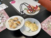 久しぶりのお友達レッスン - カフェ気分なパン教室  *・゜゚・*ローズのマリ