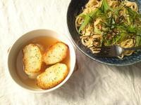 固くなった自家製パンの利用法の、スープ&スープの語源 - Minha Praia