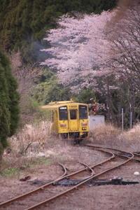 波野駅と玉名駅 - 空いいよ!どっと混む♪