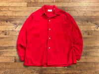 """1960's """"ARROW""""Open Collar Corduroy Shirt - BAYSON BLOG"""
