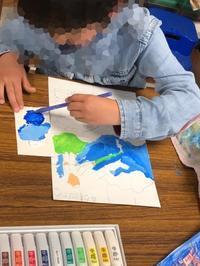 新1年生も入会して頑張っています。 - 大﨑造形絵画教室のブログ