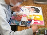 中学校3年生の自画像を上手く描く為に!! - 大﨑造形絵画教室のブログ