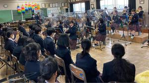 新入生歓迎ミニコンサート - 小平第六中学校吹奏楽部 We Love Brass!!