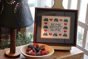 アンティークの糸巻きランプと刺繍フレーム - nantucket-countryのBLOG