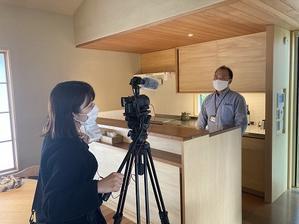 NHK「金曜は!いばっチャオ」の取材を受けました - イエログ!~柴木材店公式ブログ~