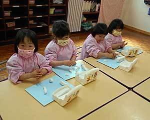粘土楽しいね♪ - 中かがや幼稚園わくわくブログ