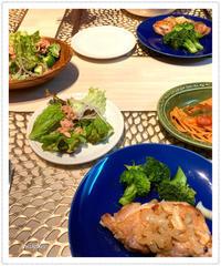 チキンのガーリックソテーで夜ご飯。 - Mikari's Blog