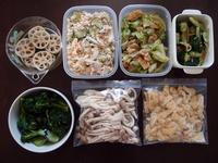 週末の常備菜づくり(210411) - ふたりで暮らす