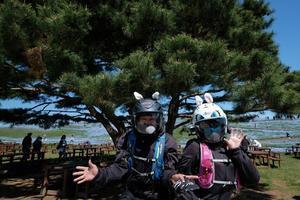 似たものライダーひたち海浜公園にて2021・04・10 -