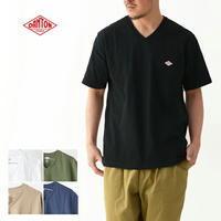 DANTON [ダントン] M's 空紡天竺 Vネック T SOLID [JD-9213] VネックTシャツ・コットンTシャツ・Vネック・無地・メンズ・男性用・紳士・MEN'S [2021SS] - refalt blog
