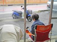 みんな満身創痍の中、K西サン号 ハスクバーナ FS450のタイヤ交換・・・(笑) - バイクパーツ買取・販売&バイクバッテリーのフロントロウ!