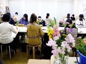 花のデッサン 2021年4月 - 教室通信/松尾美術研究室