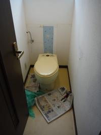 室内リフォーム~トイレ内装工事。 - 市原市リフォーム店の社長日記・・・日日是好日