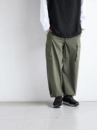 Porter ClassicSUPER NYLON STRETCH PANTS / OLIVE - 『Bumpkins putting on airs』