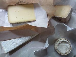 チーズメモ いろいろ - リヨンの散歩2