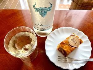 焼きリンゴのケーク と SAUVIGNON BLANC - よく飲むオバチャン☆本日のメニュー