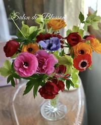 お庭の花 - サロン・ド・ブロッサム(パーソナルカラー診断&骨格スタイル分析、パーソナルスタイリストin広島)
