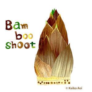 Bambooshoot タケノコ - K e  i  k  o     A  o  i  イ ラ ス ト 日 記