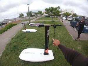 前線通過後の風遊び - Lets パドリング