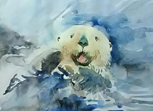 金曜日の1日 - ちょっとシニアチックな水彩画家 Watercolor by Osamu 水彩画家のロス日記 Watercolorist Diary